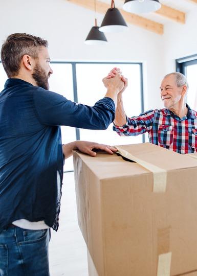 Hulp bij verhuizen